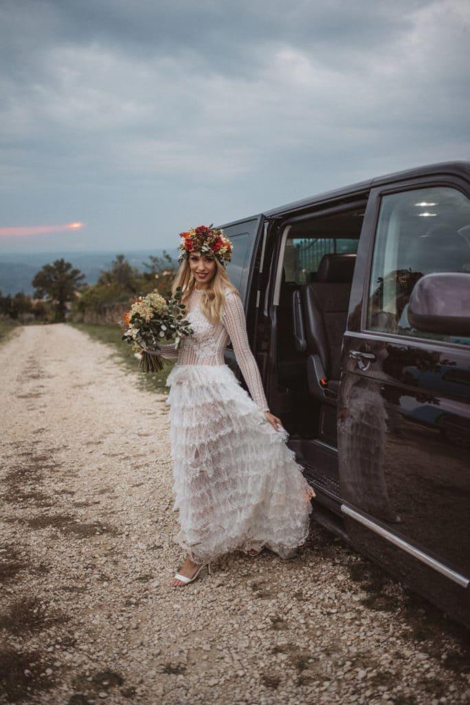 Wedding car Slovenia