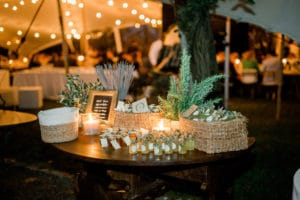 garden lights osvetlitev Wedding Tuscany