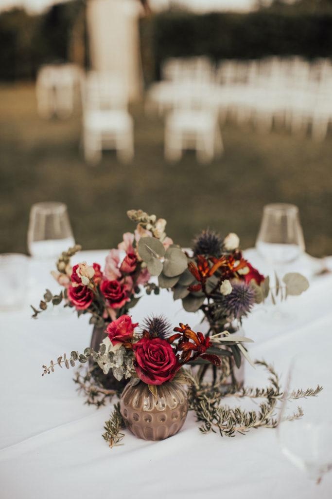 dekoracija banketne poročne mize